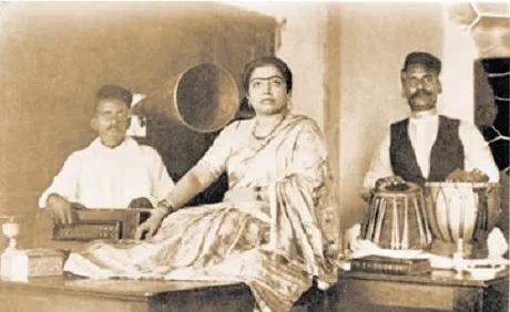 Singer Gauhar Jaan