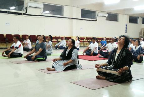 SSMV Yoga Day