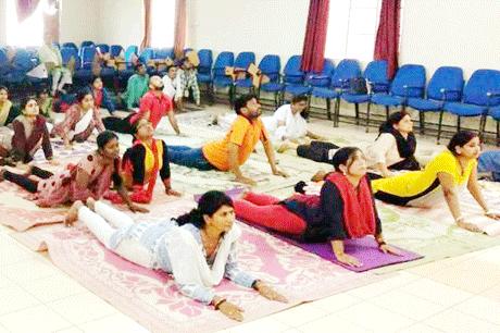 Yoga SSSSMV Bhilai