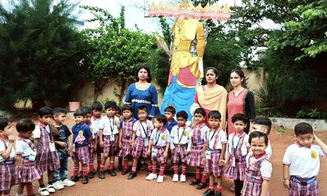 Indu-IT-School_dussehra-cel