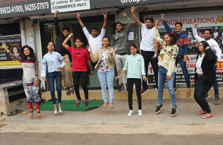 Santosh Rai Institute CA CMA students reap success