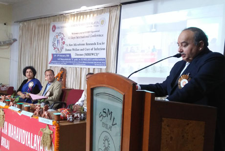 CCOST sponsored 2 day International Seminar organized at SSMV