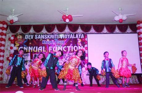 Annual day at Dev Sanskriti Vidyalaya Khapri
