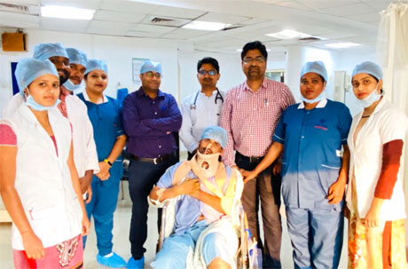 diffuse axonal injury treated in Hitek Superspeciality Hospital