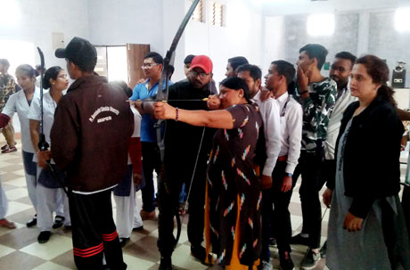Archery and Horse Riding in MJ College