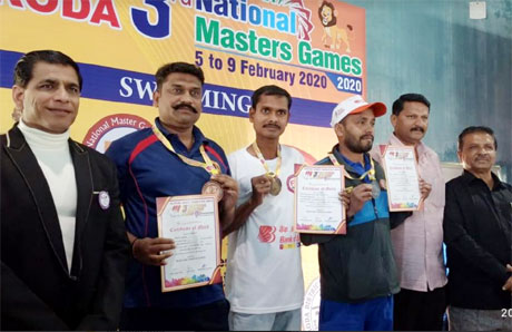 Durg wins 9 medals in Masters Games