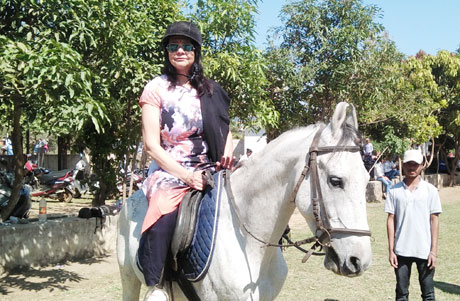 Horse Riding at MJ College