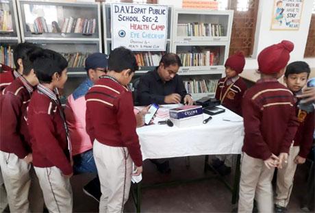 Health Checkup at DAV Ispat Publics School