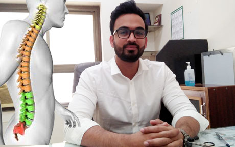 Take care of your spine before it's too late : Dr Rahul