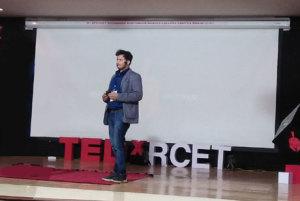 Eshan Sadasivan at TEDxRCET says empathy must for research and development