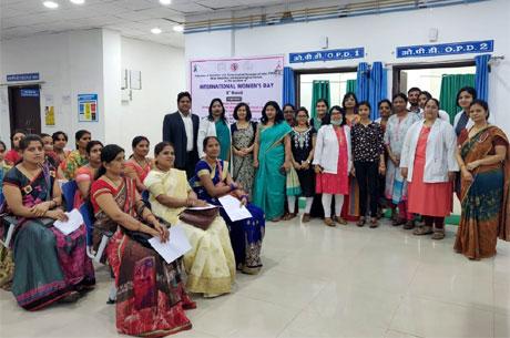 Cancer Screening Camp by Bhilai Gynae Society