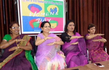 Womens Day in Patankar Girls College Durg