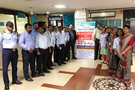 Free OPD IPD at Sparsh Hospital
