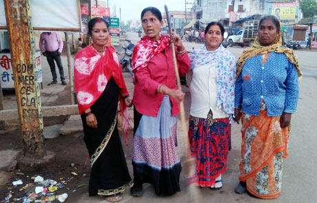 Swaachata Karmi on Mahila Divas