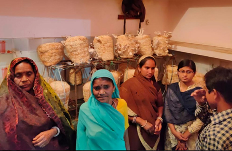 Additional income for village women