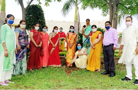 DSCET Guru Purnima and tree plantation