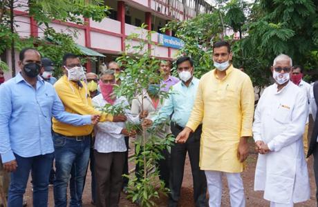 Hariyar Bhilai Tree Plantation
