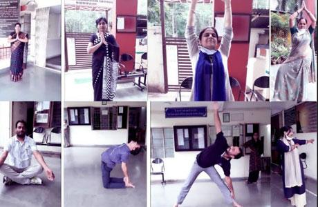 21 day yoga camp at SSSSMV