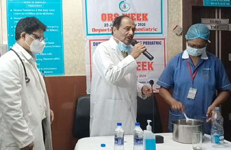 ORS week in Sparsh Hospital Bhilai