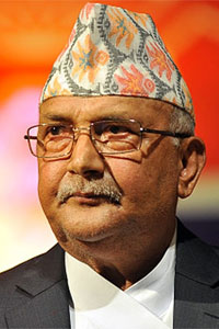 Ram and Sita were both from Nepal claims PM Oli