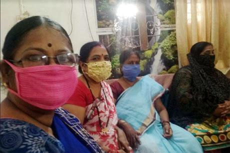Prerana of SSMV trains women in making immunity booster tea