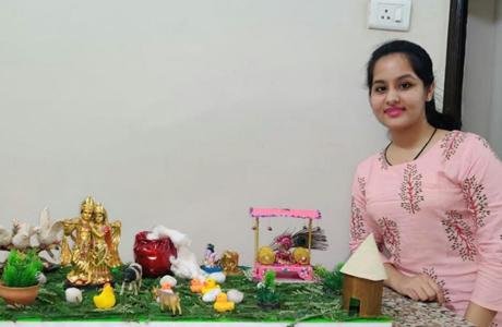 Janmashtami Competition at SSSSMV
