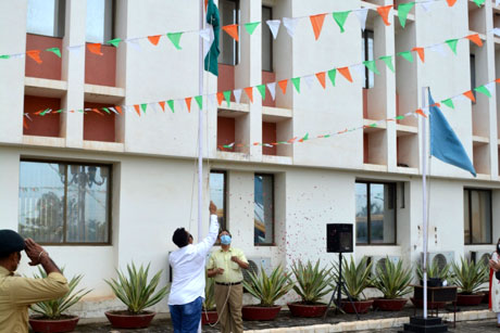 Independence Day in Sanjay Rungta Campus