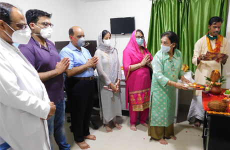 Ultra Modern Ophthalmology department comes up in Sparsh Multispediality Hospital