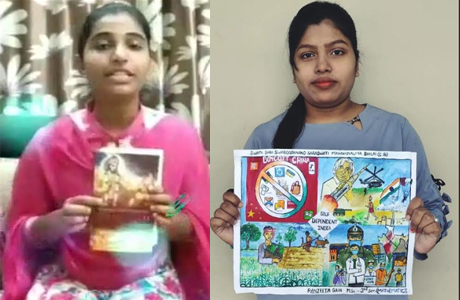 Students of SSSSMV win national prizes