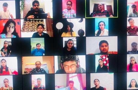 International Webinar at Dr Santosh Rai Institute