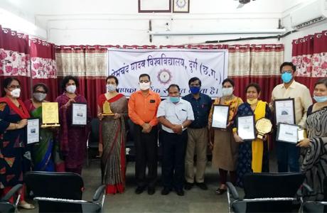 Hemchand Yadav University Best Practices Award