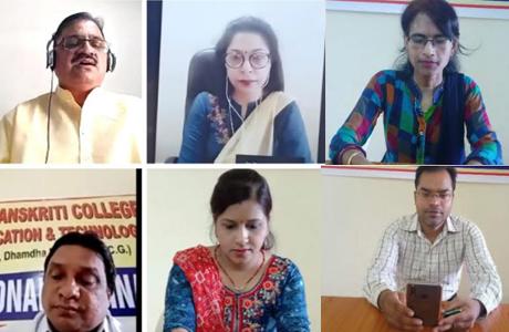 Hindi Divas at Dev Sanskriti College