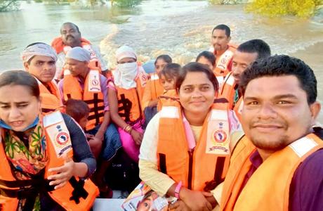 Nandghat Bemetara Flood