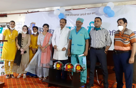Physio Therapy Day in Sparsh Multispeciality Hospital