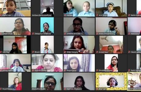 Online Teachers Day at RPS Bhilai