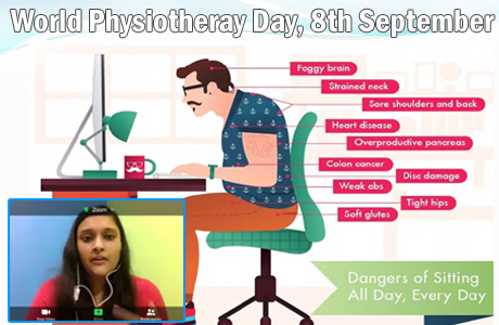 World Physiotherapy Day at SSMV