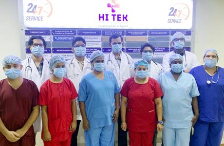 Hitek Hospital Tops the best Covid Hospital list