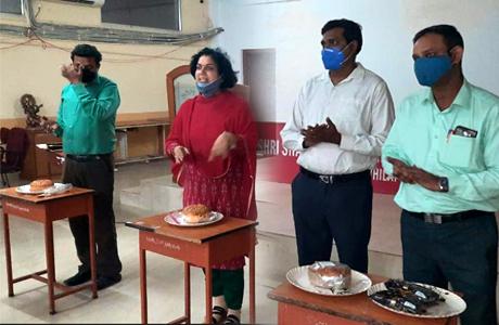 Mans Day Celebrated at SSMV