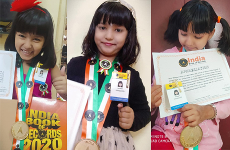 India Book of Records registers Nayra as the youngest story teller