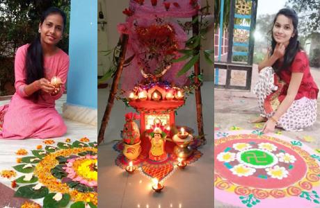 Tulsi Vivah at SSSSMV