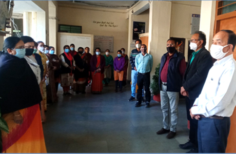 Patankar Girls College pays tribute to Motilal Vora