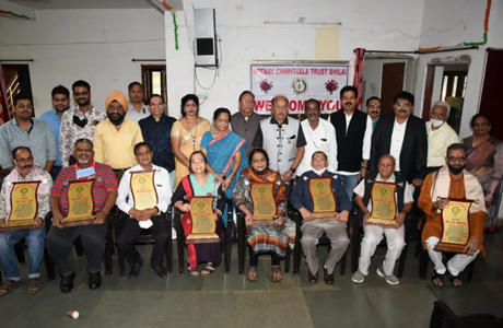 Rotary club felicitated