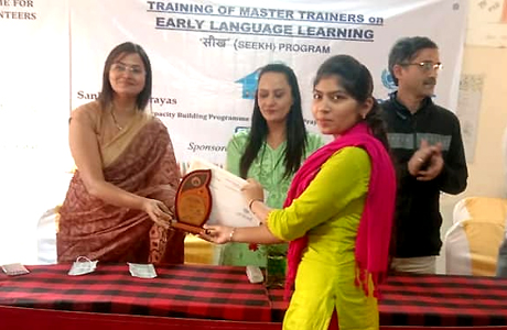 Sankalp and UNICEF join hands to train community teachers