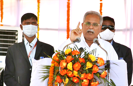 CM Bhupesh Baghel annouces construction of Ghotuls in Narainpur