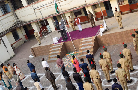 Republic Day celebrated in Science College