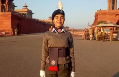 Tanuja Verma of SSMV selected for Best NSS Volunteer