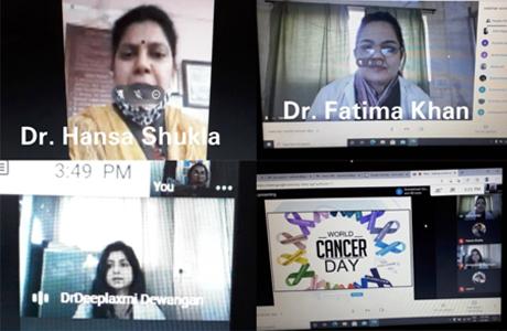 Webinar on Cancer Day at SSSSMV