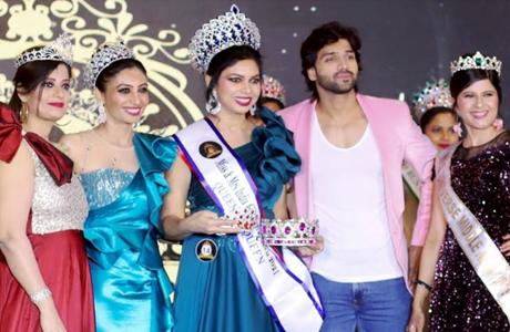 Prerana of Bhilai wins Beauty Pageant
