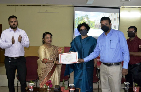Certificate program on Internet of Things at SSMV