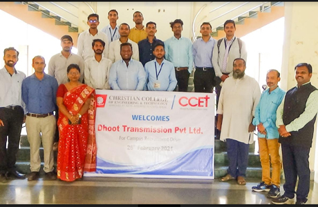 Campus placement at CCET